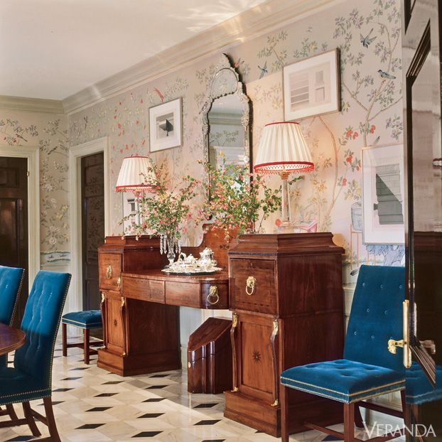 Old Westbury Gardens Floor Plan: How To Decorate With Florals