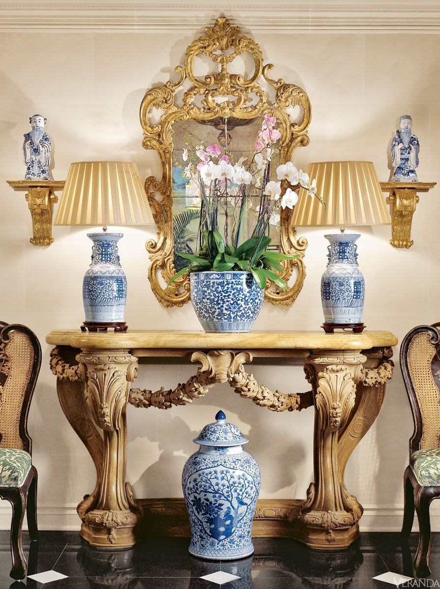 Blue And White Porcelain   How To Decorate With Chinese Blue U0026 White Vase