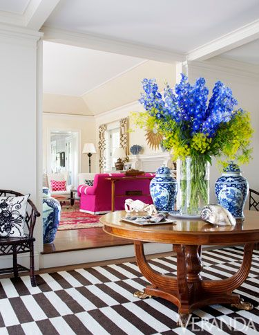 Blue, Room, Interior design, Bouquet, Floor, Furniture, Interior design, Flooring, Serveware, Home,
