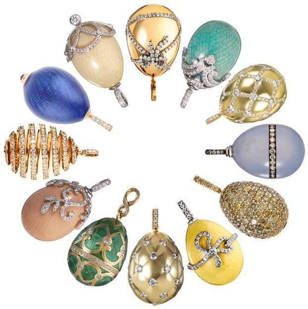Faberge egg pendant faberge jewelry house aloadofball Choice Image