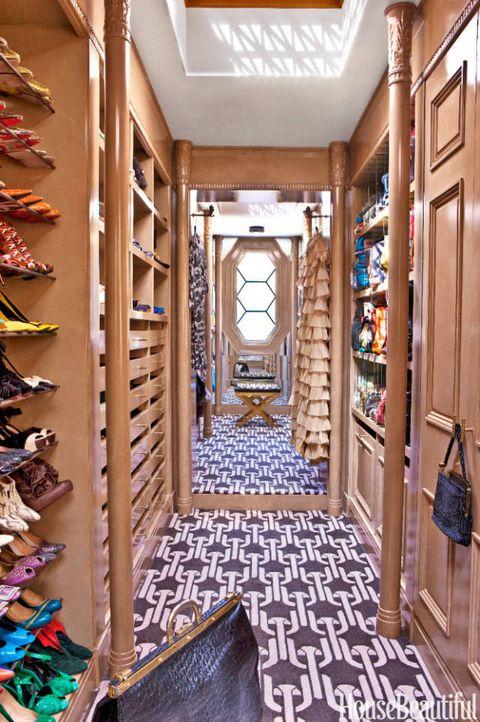 kelly wearstler walk in closet
