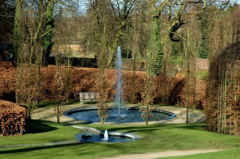 Wirtz International's landscape design for Alnwick Garden, Alnwick, England.