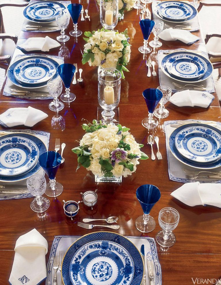 Blue And White Porcelain How To Decorate With Chinese