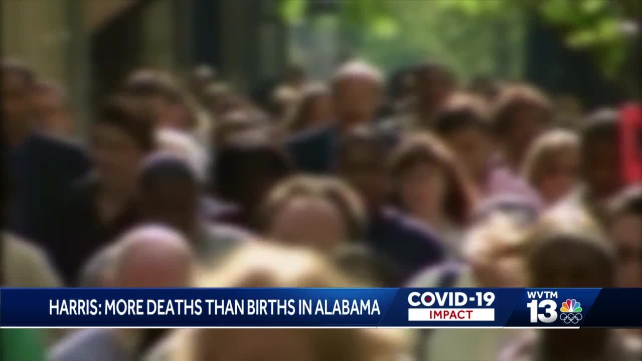 Alabama health officials report more COVID deaths surpass births in state history