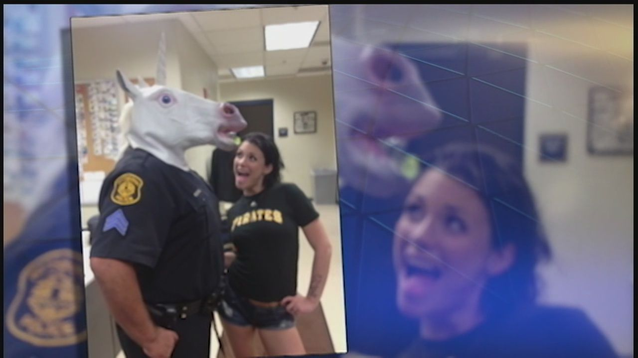 adult film director defends pittsburgh officer's photo with unicorn