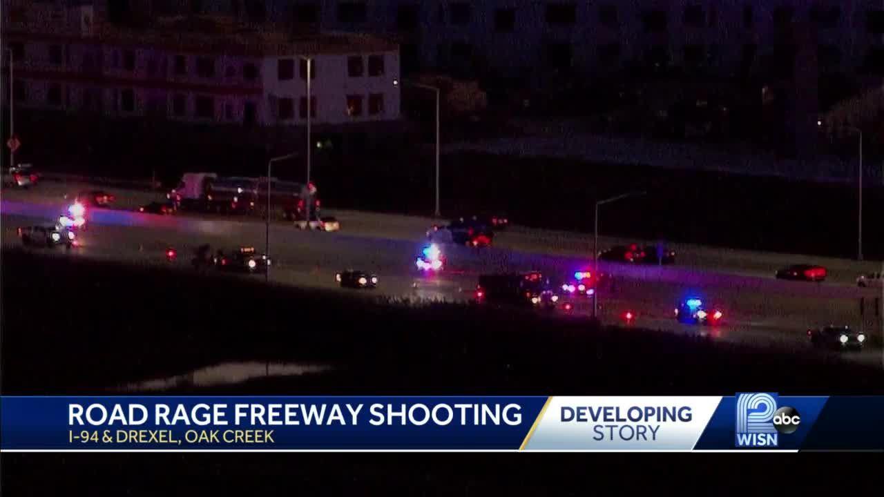 Road rage shooting closes highway