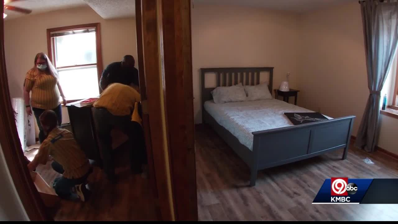 IKEA donates furniture to Lawrence shelter