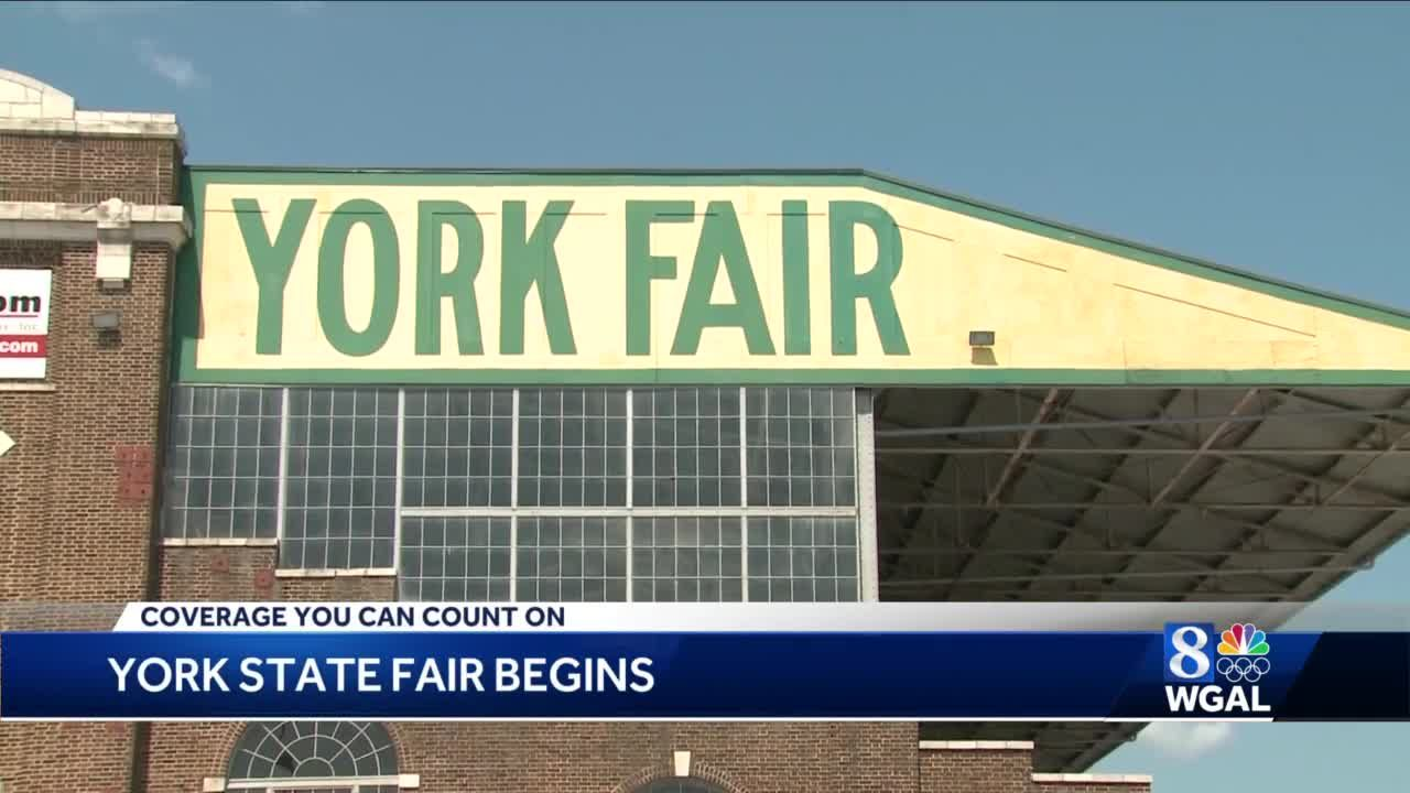 York State Fair begins