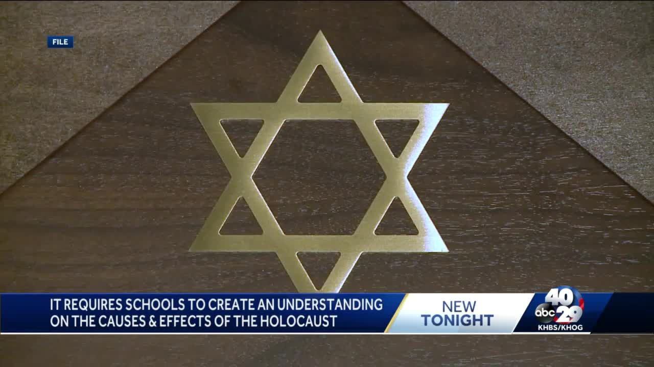 Holocaust education bill becomes law in Arkansas