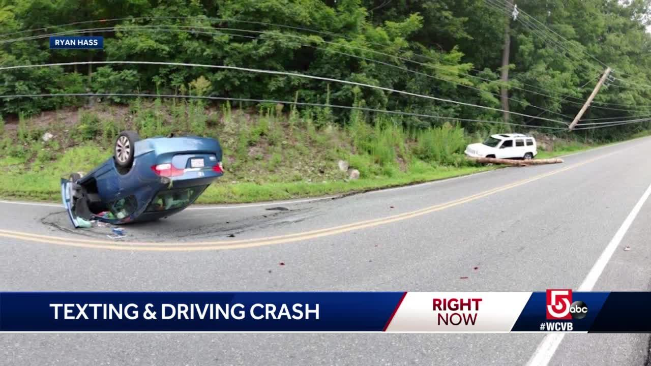 Texting While Driving >> Police Hope This Video Will Stop Others From Texting While Driving