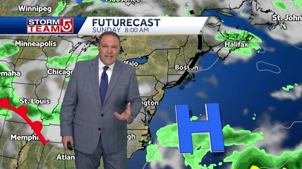 Video: Warm, dry stretch ahead for Massachusetts
