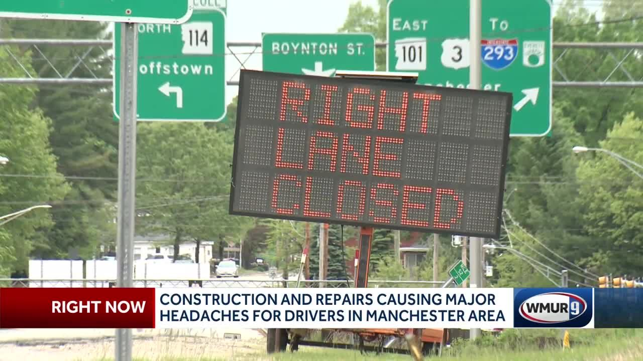 Bridge lane closures cause headaches for drivers