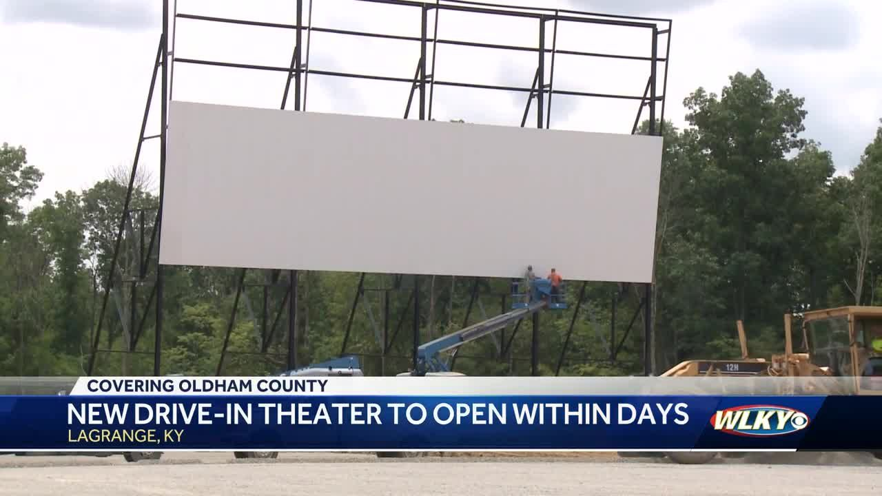 New Drive In Theater To Open Within Days