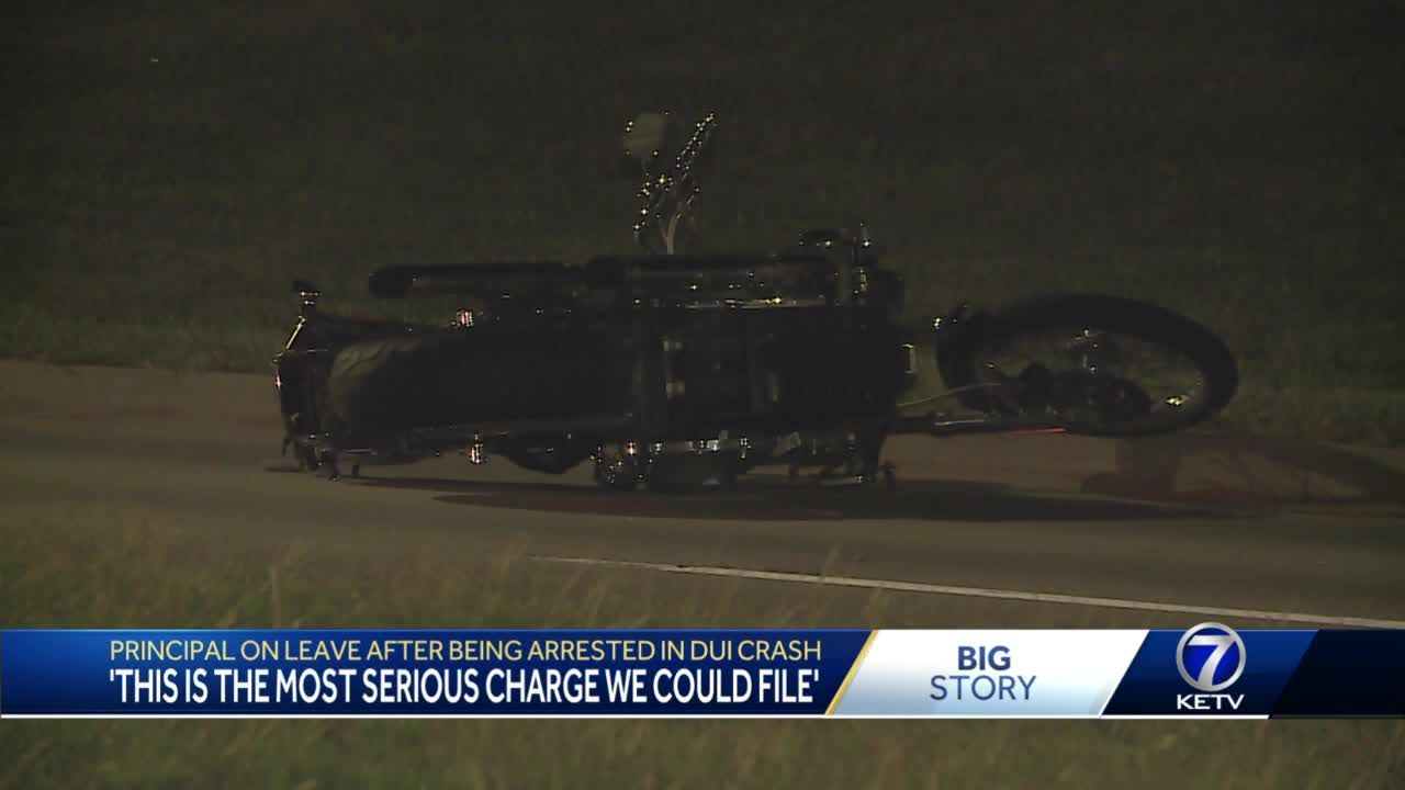 Principal on leave after being arrested in DUI crash