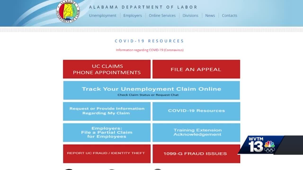 WVTM 13 Investigates: Alabama's unemployment benefit backlog