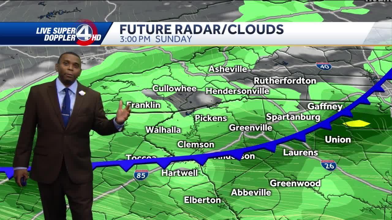 Videocast: Pop-up Storms Sunday