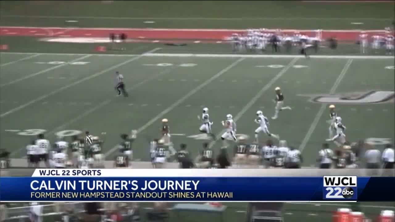 Calvin Turner Jr. on amazing journey