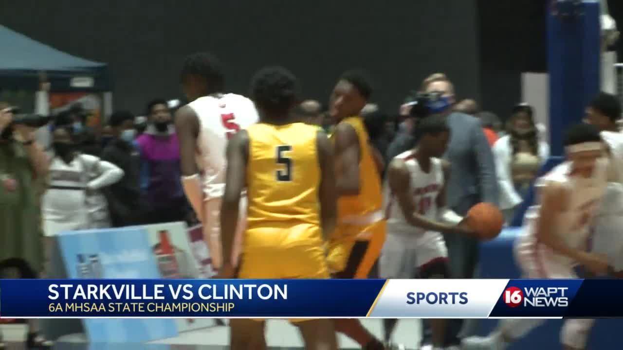 Clinton wins 6A State Championship