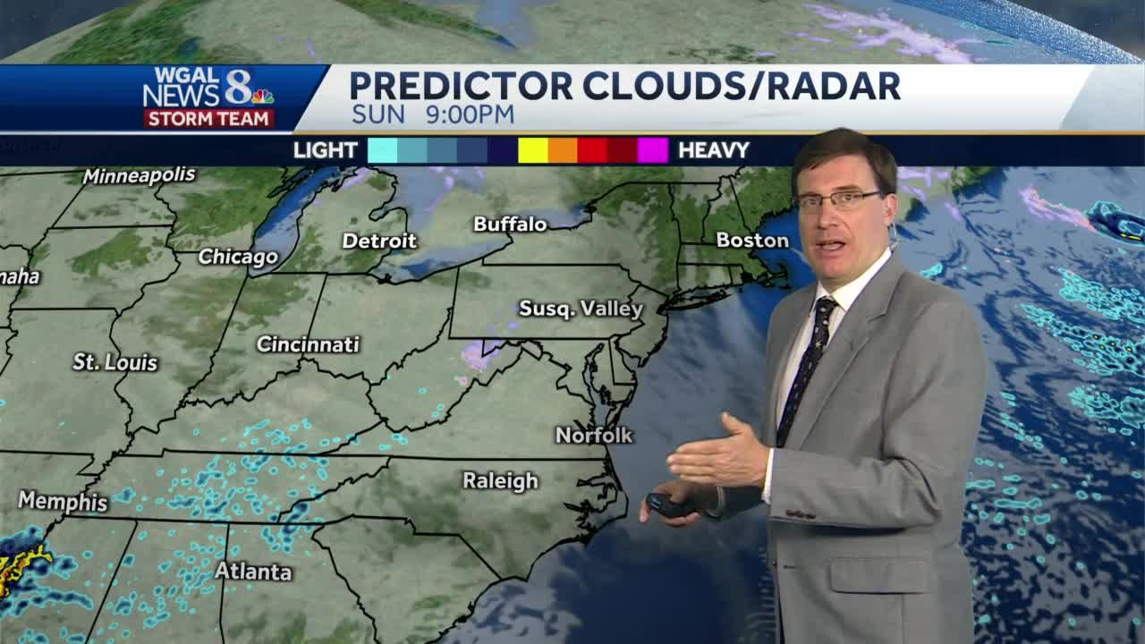 Winter weather possible Monday into Tuesday
