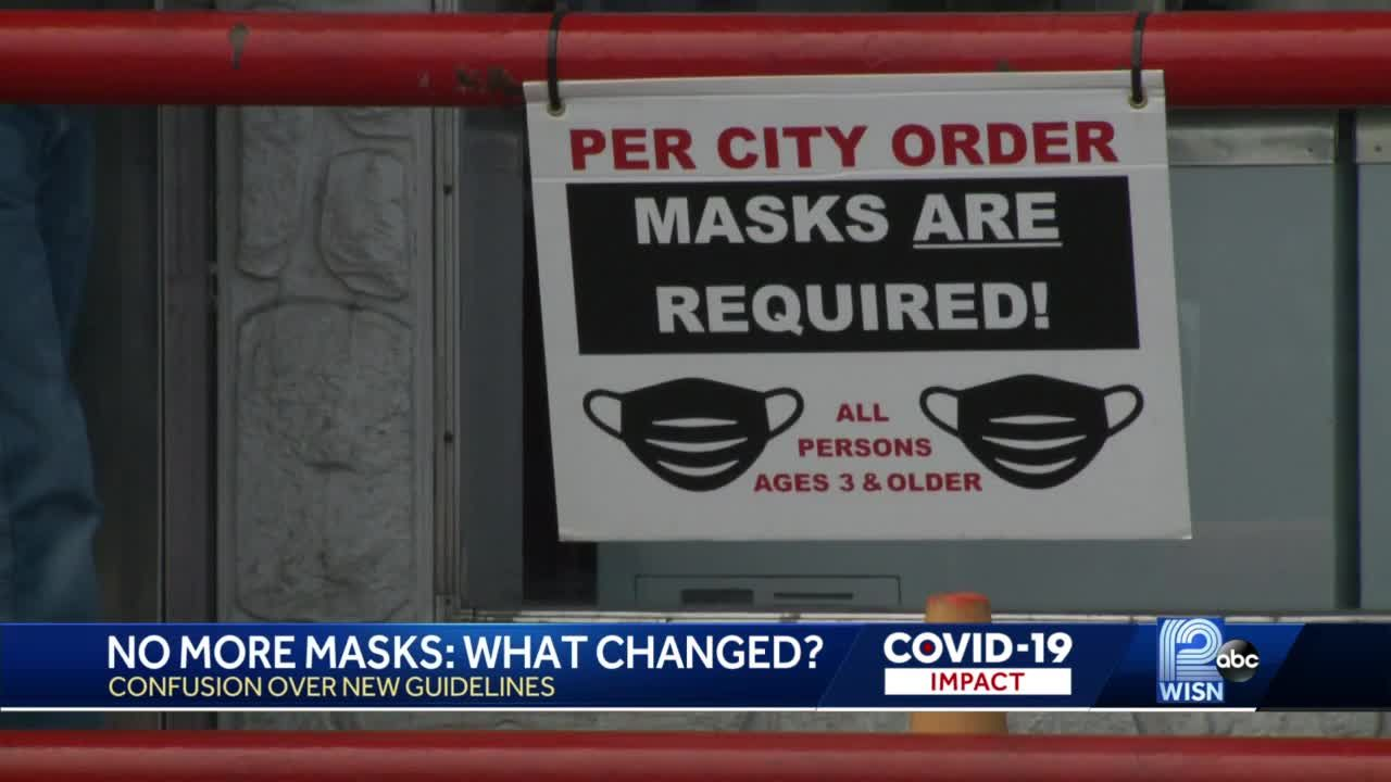 New CDC mask guidance leaves cities scrambling