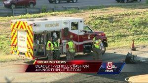 1 dead in multi-vehicle crash in Littleton
