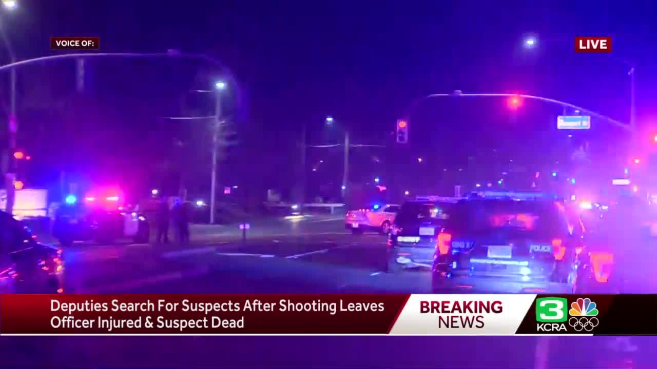Sheriff: Officer hospitalized, suspect killed in Sacramento County shooting