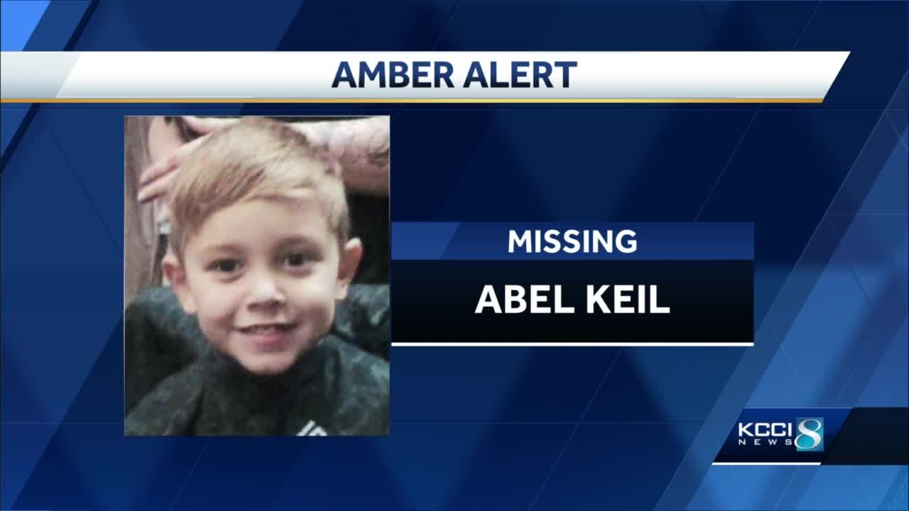 Amber Alert: Authorities searching for 5-year-old Abel Keil