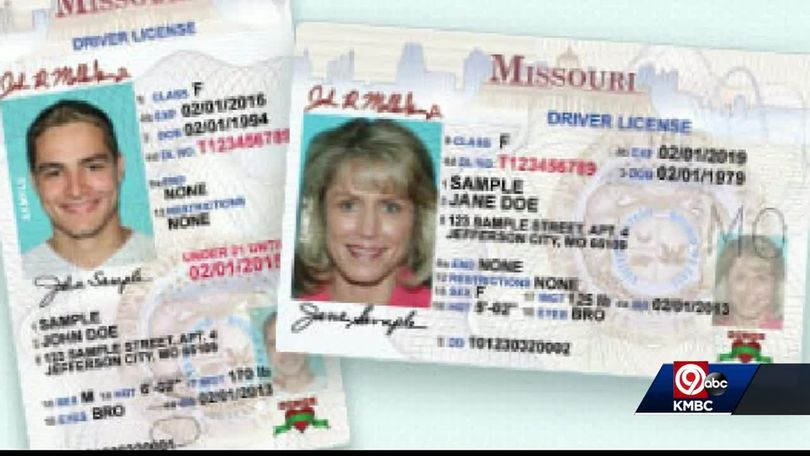 new missouri drivers license requirements