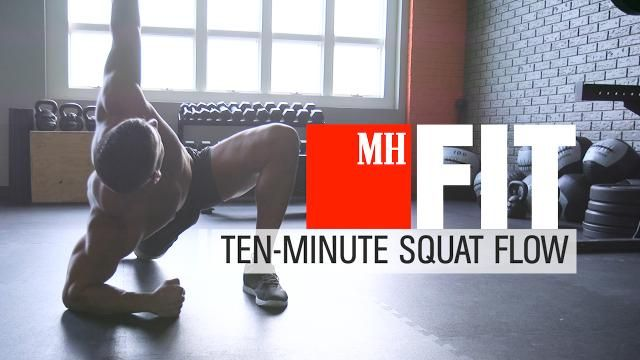 The Best Warmup to Do Before You Squat