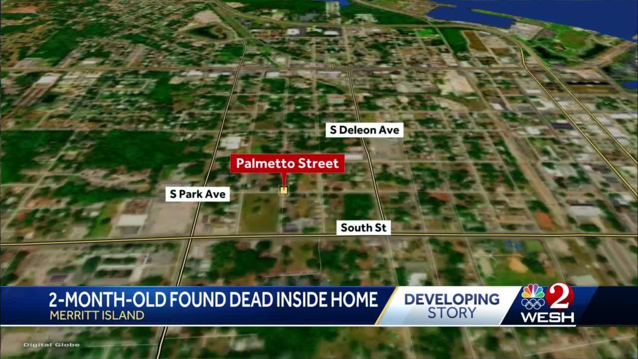 2-month-old found dead inside home in Merritt Island, officials say