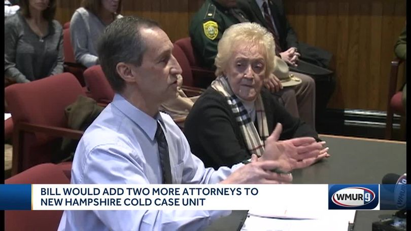 Families of cold case victims testify in favor of bill to