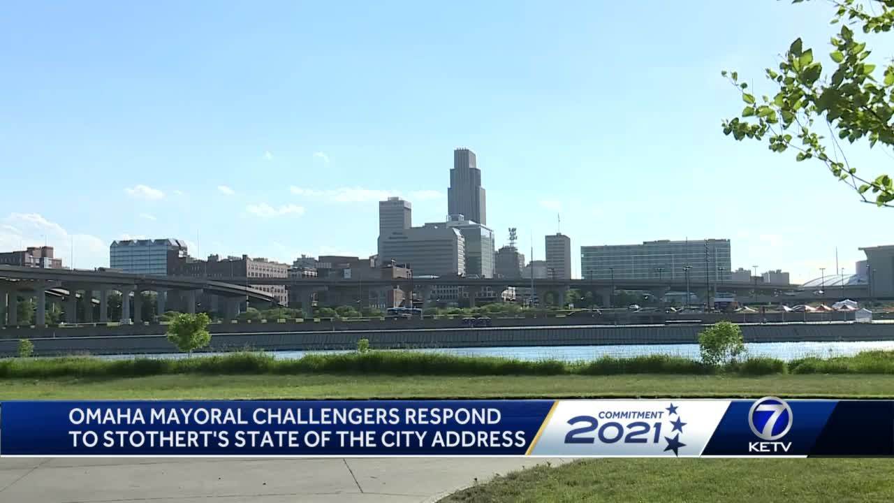 Omaha mayoral candidates respond to Stothert's state of the city address