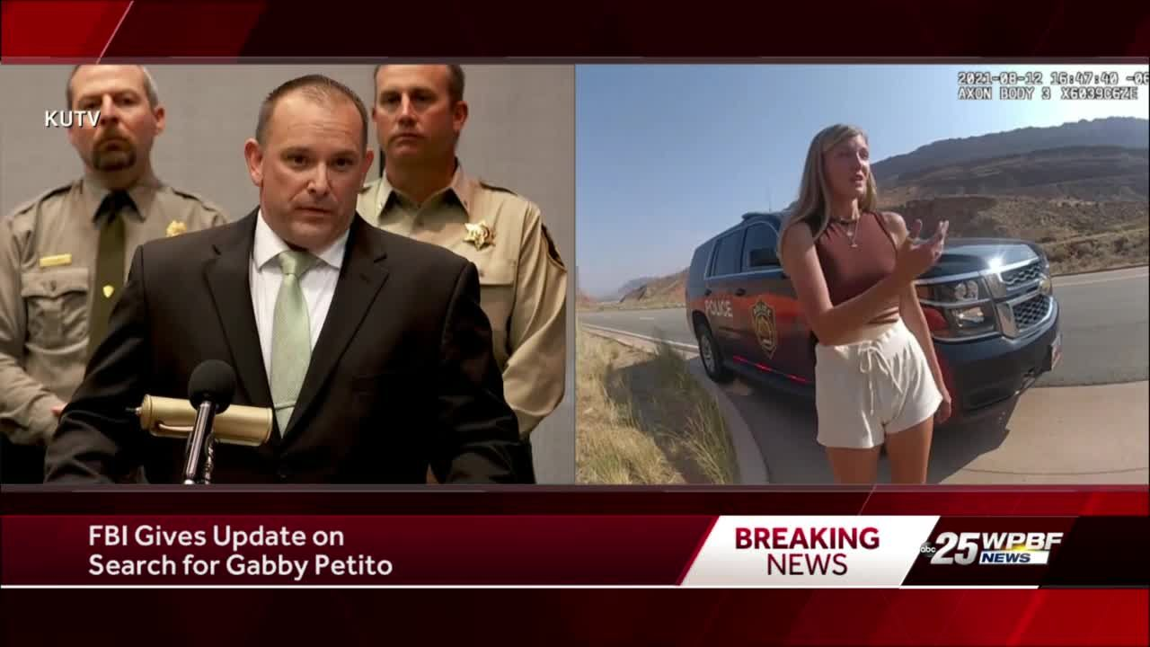 FBI gives update on Gabby Petito