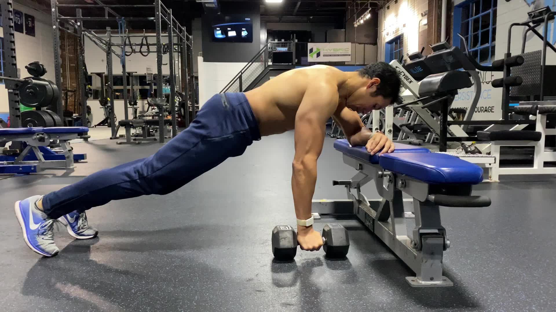 This Plank Row Hellset Will Demolish Your Abs And Back