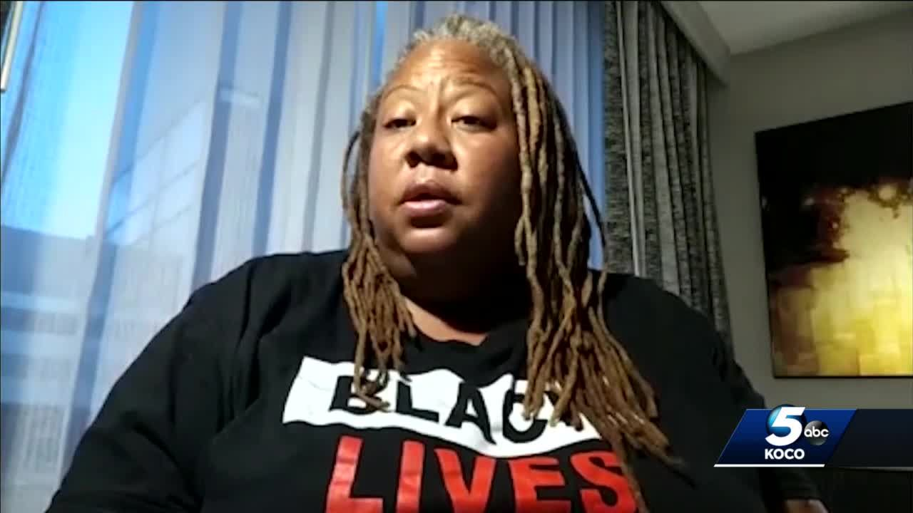 Leader of OKC Black Lives Matter arrested in Washington DC during protest