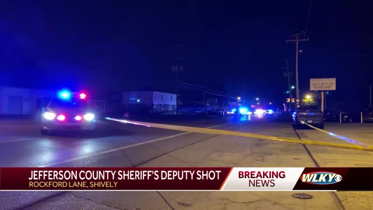 Sheriff's deputy rushed to hospital after being shot overnight