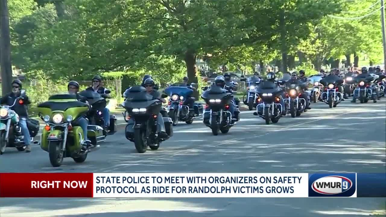 State police to meet with Randolph memorial ride organizers on safety  protocol