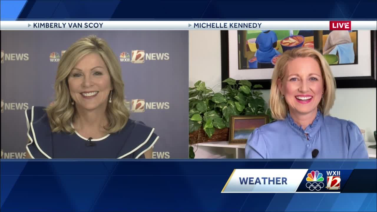WATCH: A Nice And Breezy Tuesday Plus An Evening Shower Chance And A Windy Wednesday Followed By COLD Mornings!