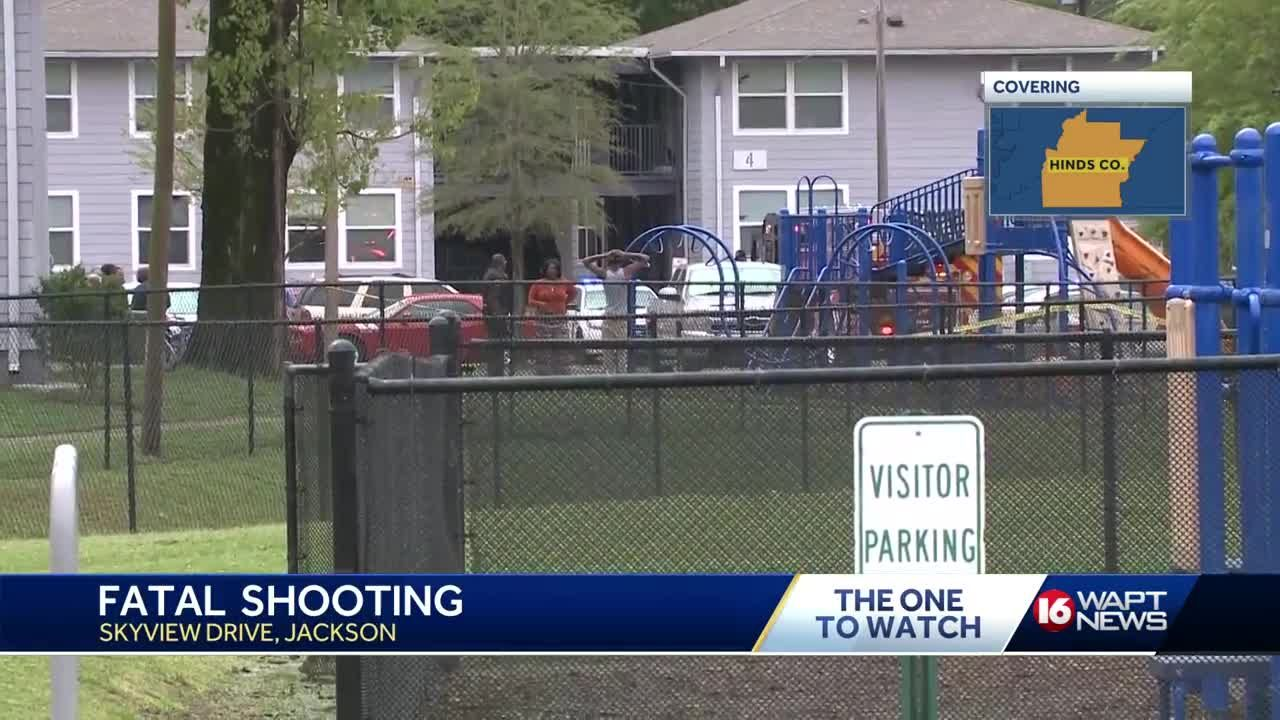 Fatal shooting at Jackson Apartment complex