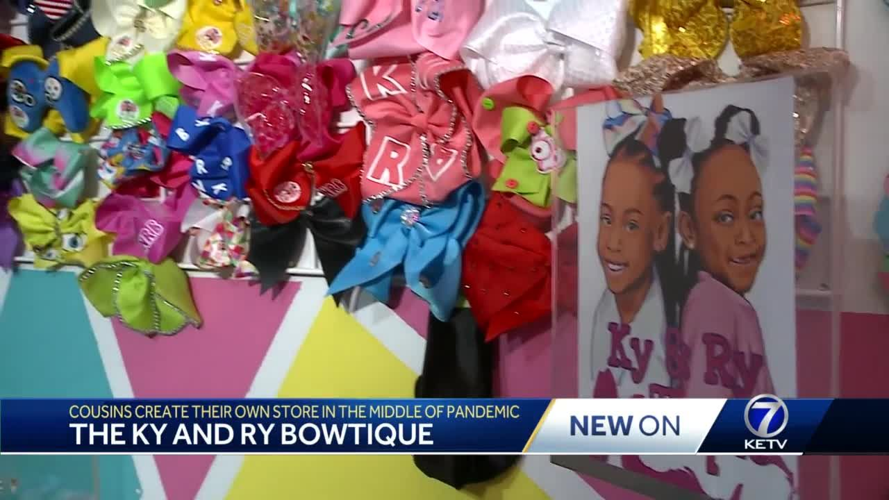 Cousins create business with bows