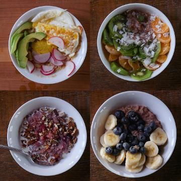 4 Breakfast Bowls That Keep You Full Until Lunch