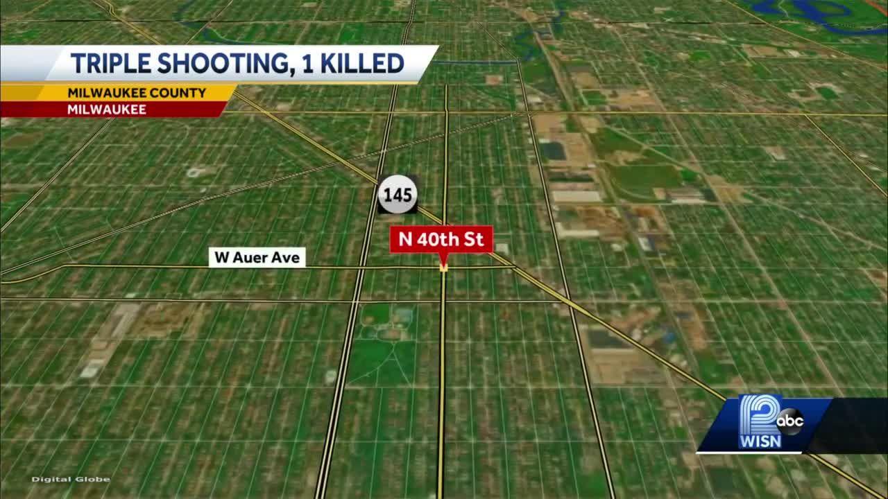 Teen killed in triple shooting