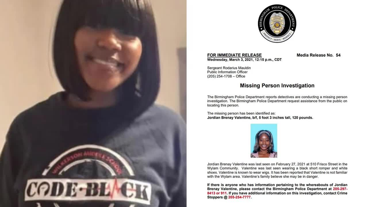 Birmingham PD searching for missing woman