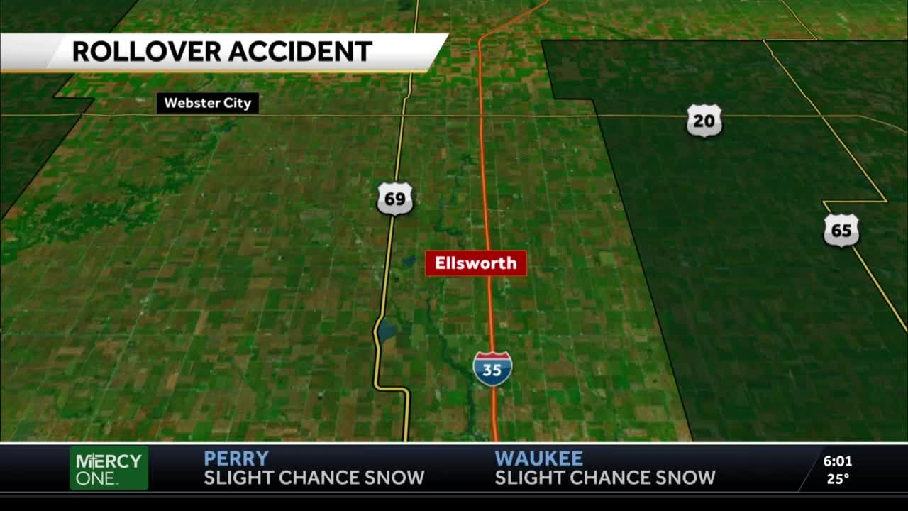 Iowa State patrol chase results in two teenagers in the hospital