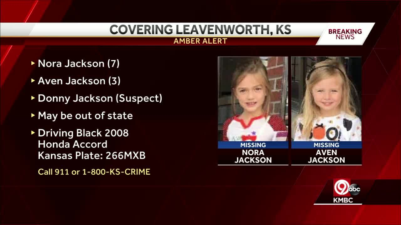 Amber Alert issued for 2 girls from Leavenworth after 2 boys found dead