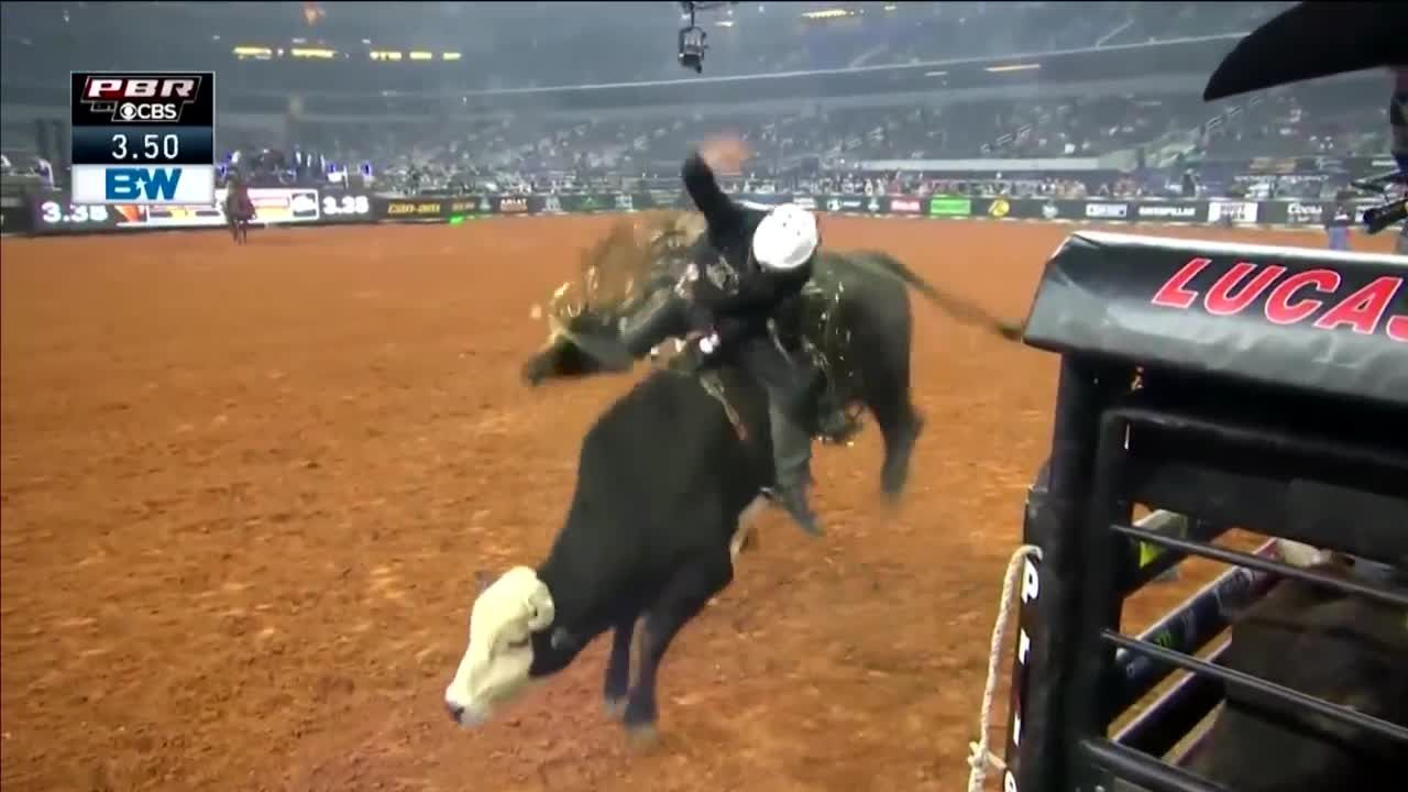 Spectators will be allowed inside again this weekend for PBR