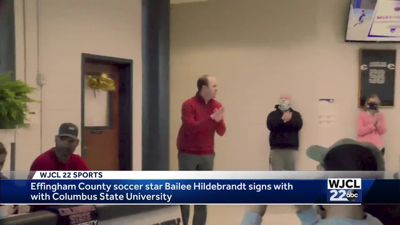 Bailee Hildebrandt signs with Columbus State University