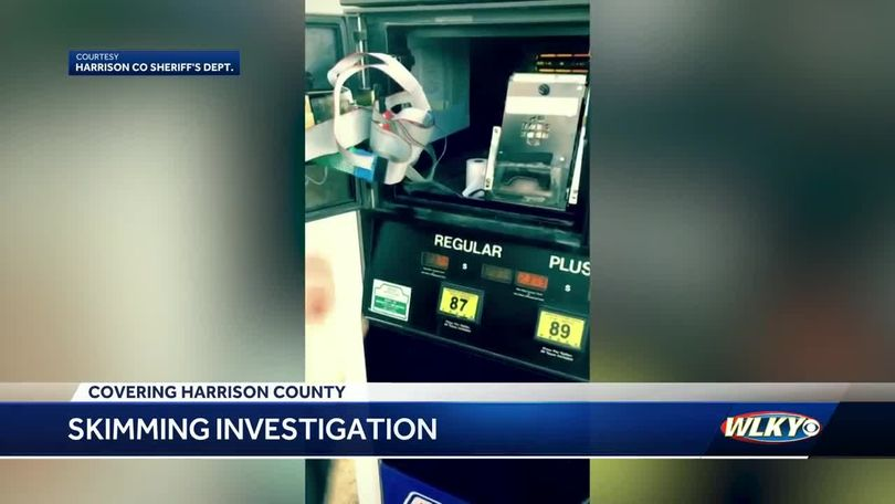 Nationwide card skimming scam hits Harrison County gas stations