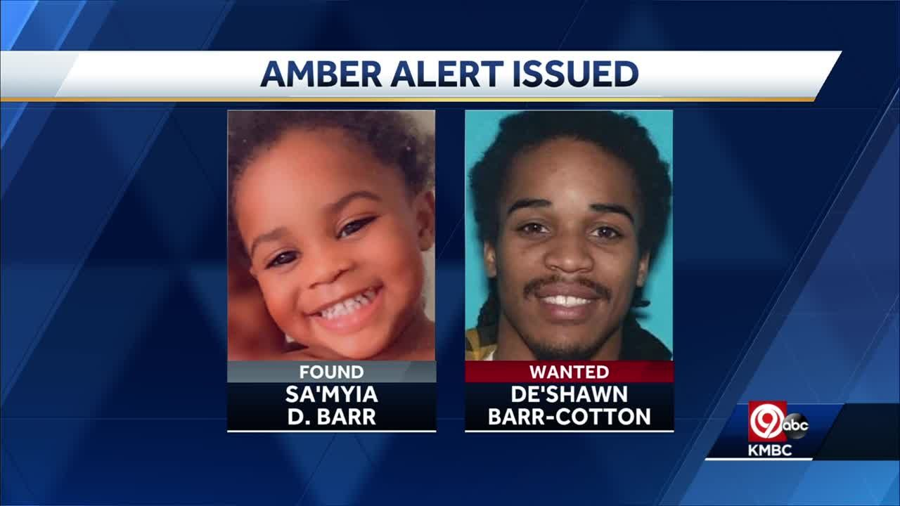 Amber alert for Gladstone 2-year-old canceled, child found safe