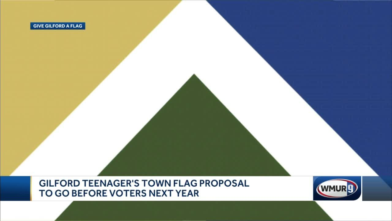 Gilford teenager's town flag proposal to go before voters next year